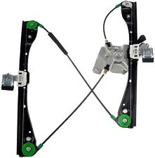 New Chevrolet Malibu Front Drivers Side Power Window Regulator With Motor
