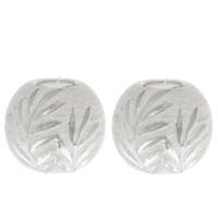 Pair Of Ceramic Silver Balls Tealight Holder Decorative Ornaments Home Deco