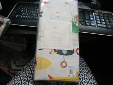 uPOTTERY BARN KIDS SUBMARINE CRIB FITTED SHEET VERY CUTE AND COLORFUL