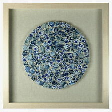 Ceramic Exploded Plate Shadow Box