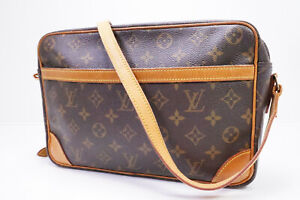 Auth Pre-owned Louis Vuitton LV Monogram Trocadero Gm 30 Crossbody M51272 210002