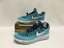 Nike LunarEpic Low Flyknit 2 Running Shoes Binary Blue 863780-402 Women's Size 8