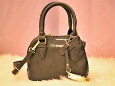 Steve Madden New Women's Black Mini Crossbody and Handbag Combo Purse