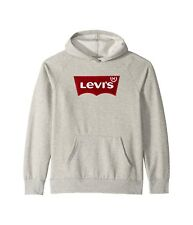 Levi's Kids Otto Pullover Hoodie Grey L Large 152-158 CM 12-13 yrs 919010-306