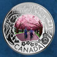Kanada - Cherry Blossoms: Celebrating Fun and Festivities - 3 $ 2019 PP Silber