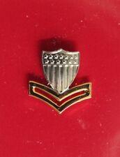 Uscg Us Coast Guard Reduced Size E-5 Po2 2Nd Cl Petty Officer Garrison Cap Badge