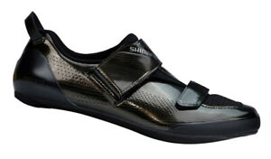 Shimano TR9 Triathlon Carbon Cycling Road Bike Shoes Black SH-TR901 45.5 US 10.9