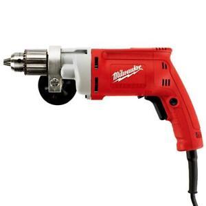 Milwaukee 0299-20 120V AC 1/2-Inch Magnum Drill 0-850 RPM w/ Chuck Key