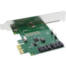 InLine PCI Express Contrôleur - 2x SATA jusqu'à 6gb/s (SATA III), RAID 0/1/Span