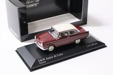 1:43 Minichamps DKW Junior de Luxe 1961 Granat red/ white