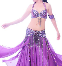 Costume Danse Orientale haut ceinture danse du ventre Jupe Belly Dance Bollywood
