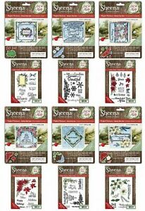 DECK THE HALLS PERFECT PARTNERS SHEENA DOUGLASS CRAFTERS COMPANION STAMPS & DIES