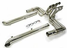 Maximizer Header w/ Side Pipes For 65 To 74 Chevy Corvette BBC Big Block 396-502
