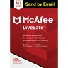 Mcafee LiveSafe 2020 Unlimited Devices 1 Year subcription Download version