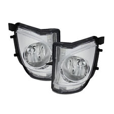 Fit Lexus 06-10 IS250/IS350 Clear Bumper Replacement Fog Lights Pair Set