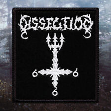 Dissection - Cross 666 | Embroidered Patch | Sweden | Swedish Black /Death Metal