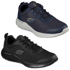 Skechers Mens Sports Trainers Bounder - Voltis Gym Training Running Mesh Shoes
