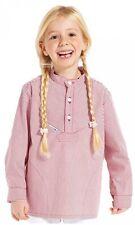 Kinder Fischerhemd rot, marine oder blau Modas 74-176 Piratenhemd Sommer Hemd
