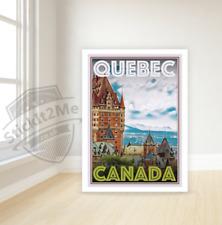Art Deco Travel Posters Lovely Vintage Retro Holiday Tourism *Unique* Quebec