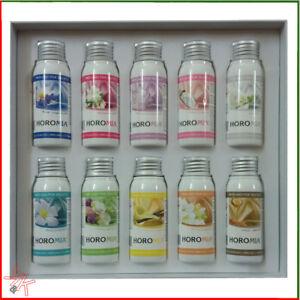 Profumo per bucato profumato lavatrice Horomia cofanetto 10 fragranze da 50 ml