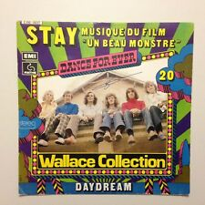 DISQUE 45T B.O FILM UN BEAU MONSTRE WALLACE COLLECTION STAY - DAYDREAM