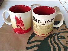 Starbucks City Global Icon 16 Oz Hannover made in Thailand 1 Tasse / Mug