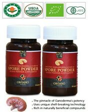 GANODERMA SPORES LUCIDUM MUSHROOM ORGANIC ORGANO GOLD POWDER CAPSULES