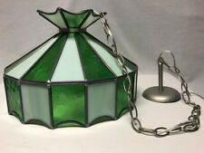 Tiffany Style Hanging Ceiling Lamp Stained Glass Light Chandelier