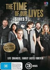 The Time Of Our Lives - Season 2 - Shane Jacobson - 3 Disc Set New Region 4 DVD