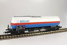 HAG 76023 SNCB NMBS Kesselwagen Zagkks 4achs SOLVAY blau/weiß Ep4-5 DC= NEU+OVP