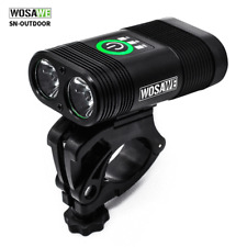 Bicycle Headlight Double LED USB Rechargeable MTB Bike Front Light Waterproof
