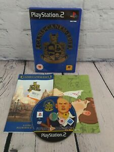 Canis Canem Edit (Bully) - RARE Sony PS2 Game - MANUAL & MAP! Fast & Free P&P!