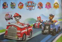 Paw Patrol - Vehicles- Poster-Laminated available-91cm x 61cm-Brand New