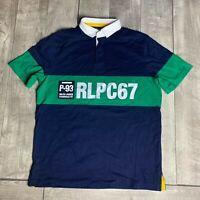 RARE Polo Ralph Lauren Hi Tech RLPC67 93 Rlpc Classic Fit Shirt Mens Size Medium