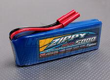 Zippy 5000mAh 3S 11.1V  20C 30C Lipo Battery Pack Flightmax HXT 4mm Bullet Plane