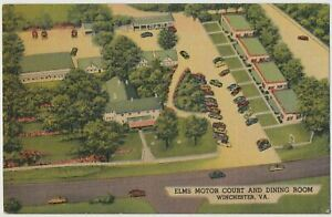 Elms Motor Court and Dining Room, Winchester, Virginia