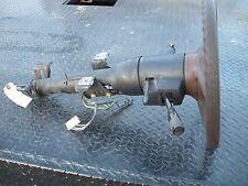 """GM Steering Column Assembly with 14"""" Steering Wheel with Key   22 1/2"""" length"""