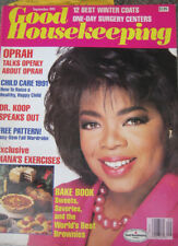 Good Housekeeping Magazine 1991 September Oprah Winfrey Ann Rule C. Everett Koop