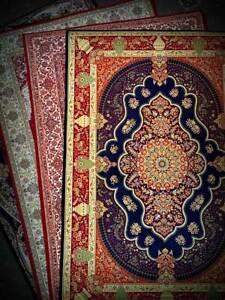 Prayer Mat for Salah - Gorgeous Colours and Designs - Namaz Salat 600g Musallah