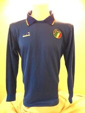 Italy Football Shirt Soccer Jersey Camesita Trikot Diadora Home Adult M 1986/90