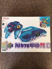 Nintendo 64 Clear Blue console nella casella Nuovo di Zecca