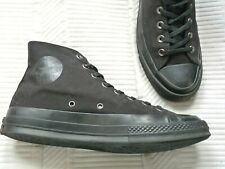 Para Hombre Negro Chuck Taylor Converse All Star Hi Top Botas Zapatillas UK 8.5 Excelente