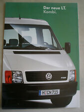 VW LT Kombi brochure May 1996 German text