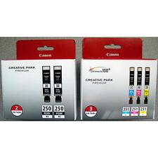 5-PACK Canon GENUINE PGI-250XL Black & CLI-251XL Color Ink (RETAIL BOX) MG6620