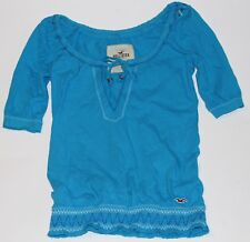 NWT HOLLISTER by Abercrombie Womens Top Blouse Shirt XS