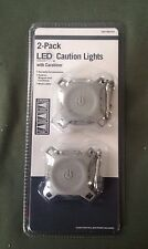 Home Depot 2-Pack LED Caution Lights with Carabiner