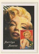 Sello de Tanzania hoja estampillada sin montar o nunca montada 1992 Marilyn Monroe 500/2 - 1926-1962 Hoja