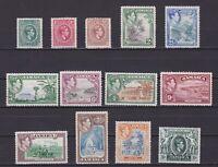 JAMAICA 1938, Sg# 121-133, CV £103, MH