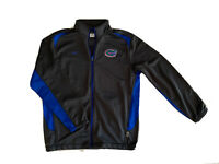 Nike Dri Fit Jacket Large Florida Gators Dark Grey And Blue Excellent Condition