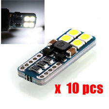10 x Canbus T10 194 168 W5W 3030 8 SMD White Car Side Wedge Light  Lights Bulbs